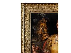 Detail images: Veroneser Schule des 17. Jahrhunderts, Alessandro Turchi, genannt L'Orbetto , 1578 Verona – 1649 Rom, zug.