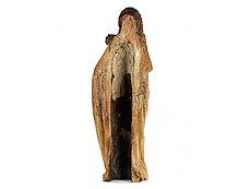 Detail images: Mondsichelmadonna mit Jesuskind und einer Traube
