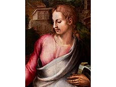 Detail images: Jacopo da Pontormo, eigentlich Jacopo Carucci di Pontormo, 1494 Empoli – 1557 Florenz, zug.