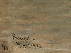 Detailabbildung: Schule von Rouen des 19. Jahrhunderts