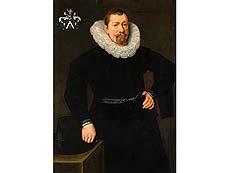 Detailabbildung: Michiel Jansz van Mierevelt, 1567 Delft - 1641, zug.