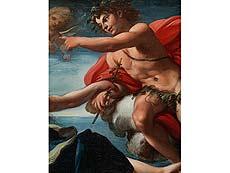 Detail images: Giacinto Brandi, 1623 Poli – 1691 Rom, zug.
