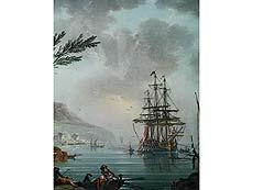 Detail images: Charles-François Grenier de la Croix, genannt Lacroix de Marseille, 1700 Marseille – 1779 Berlin