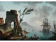 Detailabbildung: Charles-François Grenier de la Croix, genannt Lacroix de Marseille, 1700 Marseille – 1779 Berlin