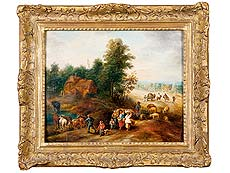 Detail images: Théobald Michau, 1676 Tournae – 1765 Antwerpen