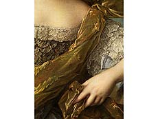 Detail images: Jean Marc Nattier, 1685 Paris – 1766