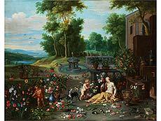 Detailabbildung: Jan Brueghel d. J., 1601 – 1678 in Zusammenarbeit mit Frans Wouters, 1612/14 – 1659