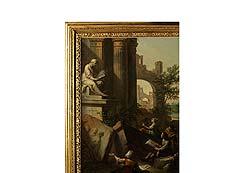 Detail images: Andrea Locatelli, 1695 Rom – 1741