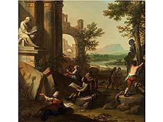 Detailabbildung: Andrea Locatelli, 1695 Rom – 1741