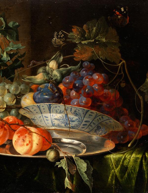 Detailabbildung: Jan Davidsz de Heem, 1606 Utrecht – 1683 Antwerpen