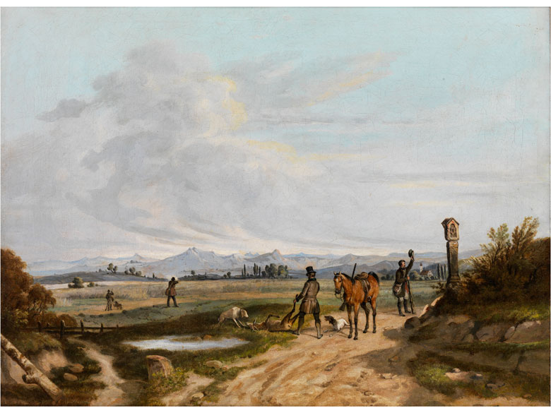 Lorenzo II Quaglio, 1793 München – 1869 München