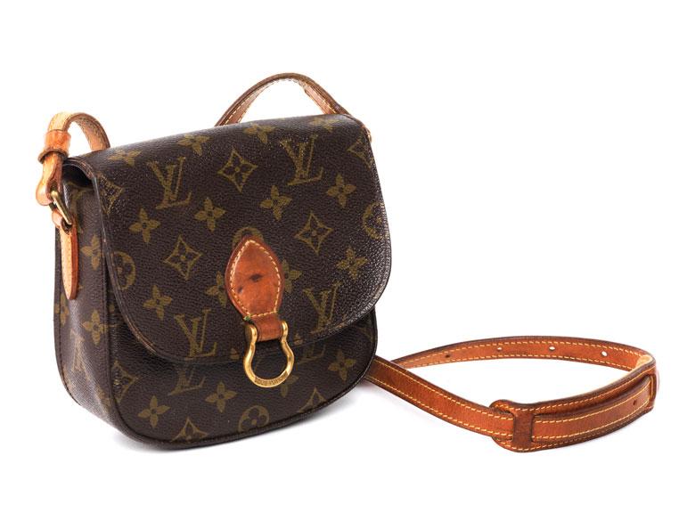 "6a5d48362a076 Louis Vuitton Umhängetasche ""Saint Cloud"" - Hampel Fine Art Auctions"