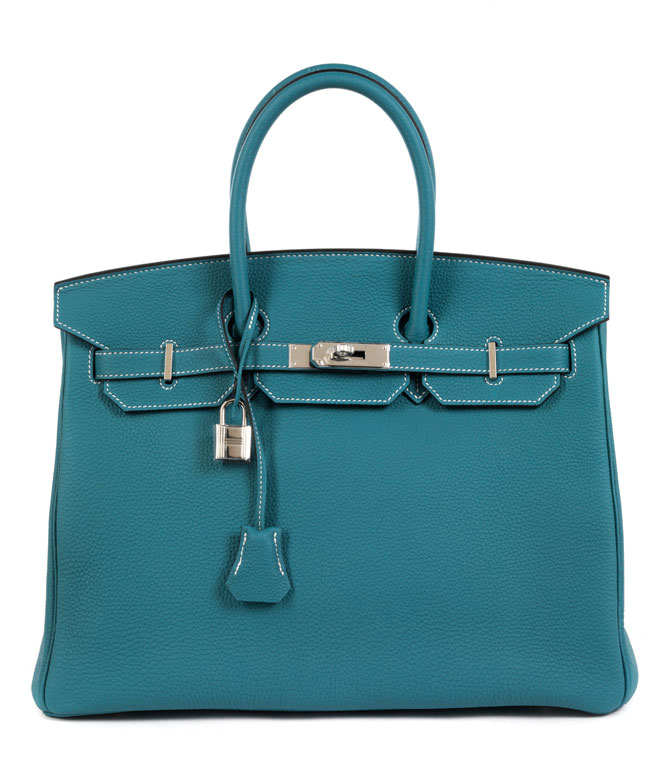 """Hermès Birkin Bag 35 cm """"Bleu Jean"""""""