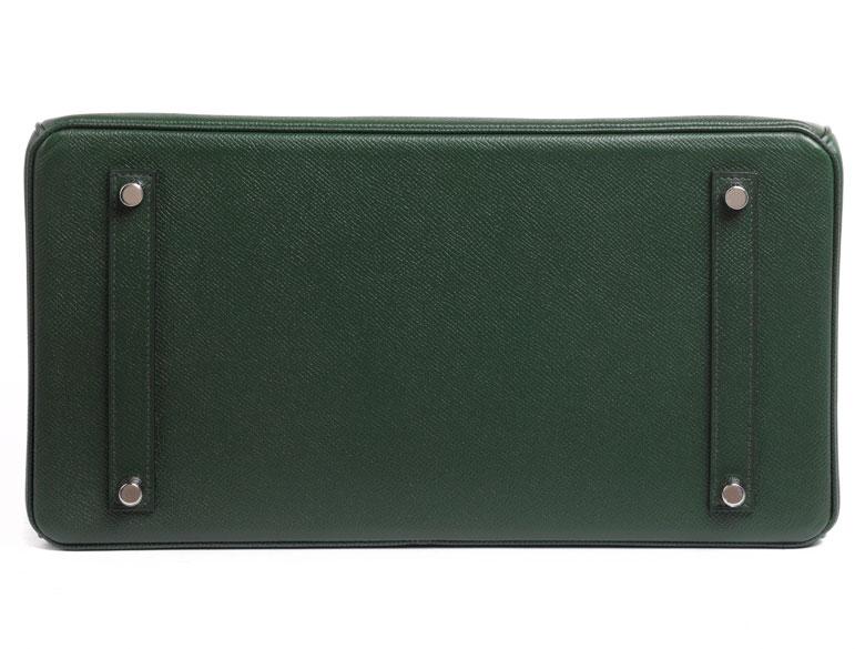 "Hermès Birkin Bag 35 cm ""Vert Anglais"" - Hampel Fine Art Auctions af40ea0fd09c7"