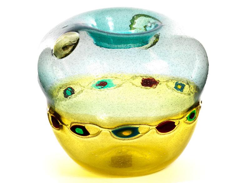 """Vase """"Murrine incatenate"""" von A.V.E.M."""