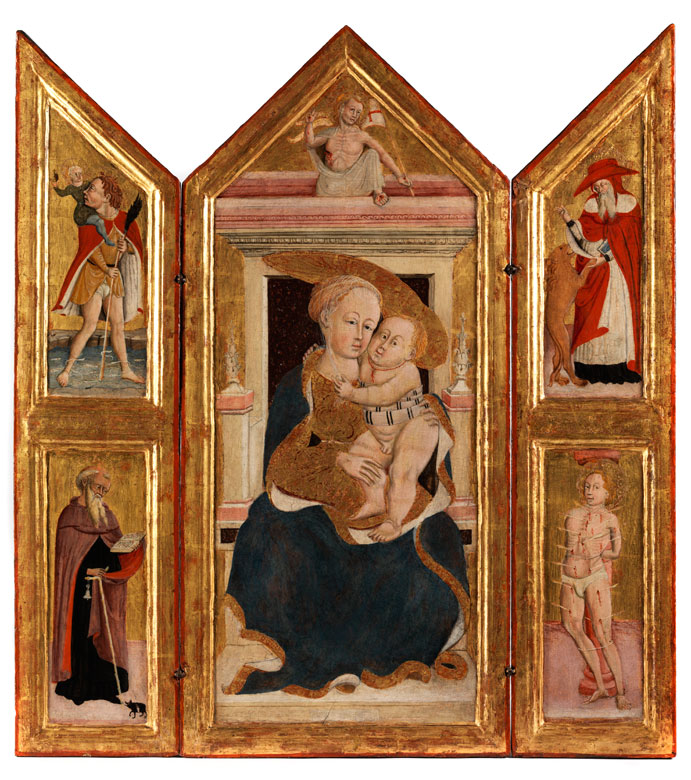 Maler aus Umbrien-Marche um 1455 - 1460