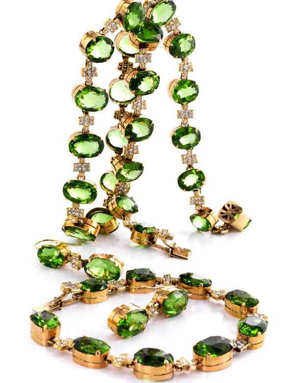 Peridot-Brillant-Set