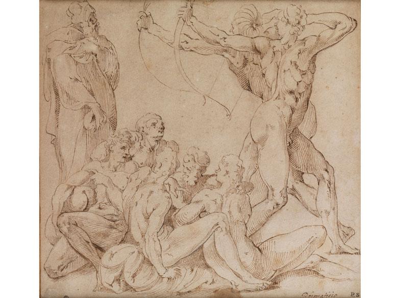 Francesco Primaticcio, 1504 Bologna – 1570 Paris, zug.
