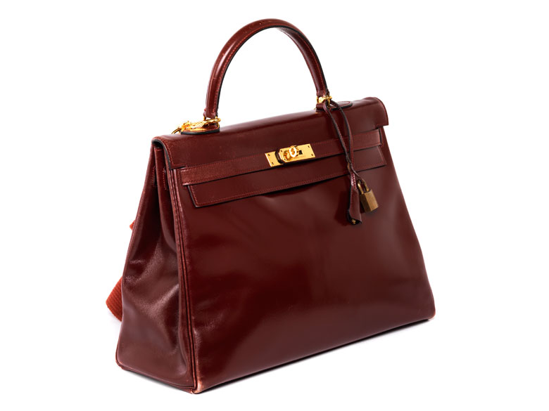 "Hermès Kelly Bag 35 cm ""Bordeaux"""