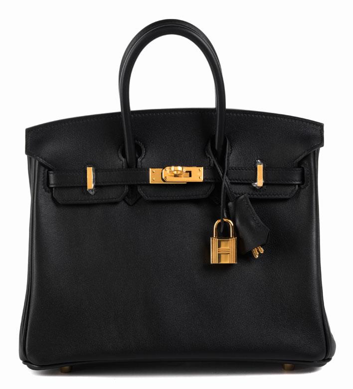 """Hermès Birkin Bag 25 cm """"Noir"""""""