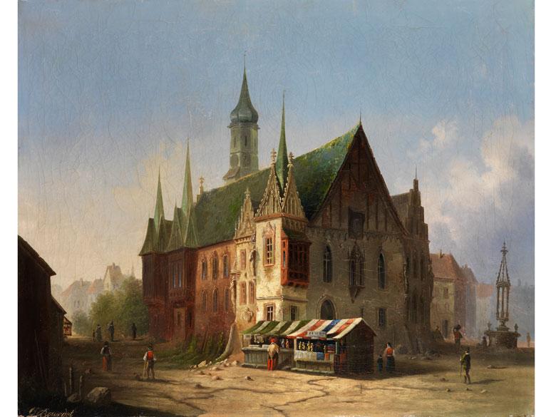 Carl Josef Alois Bourdet, 1851 Prag – 1928 Braunschweig