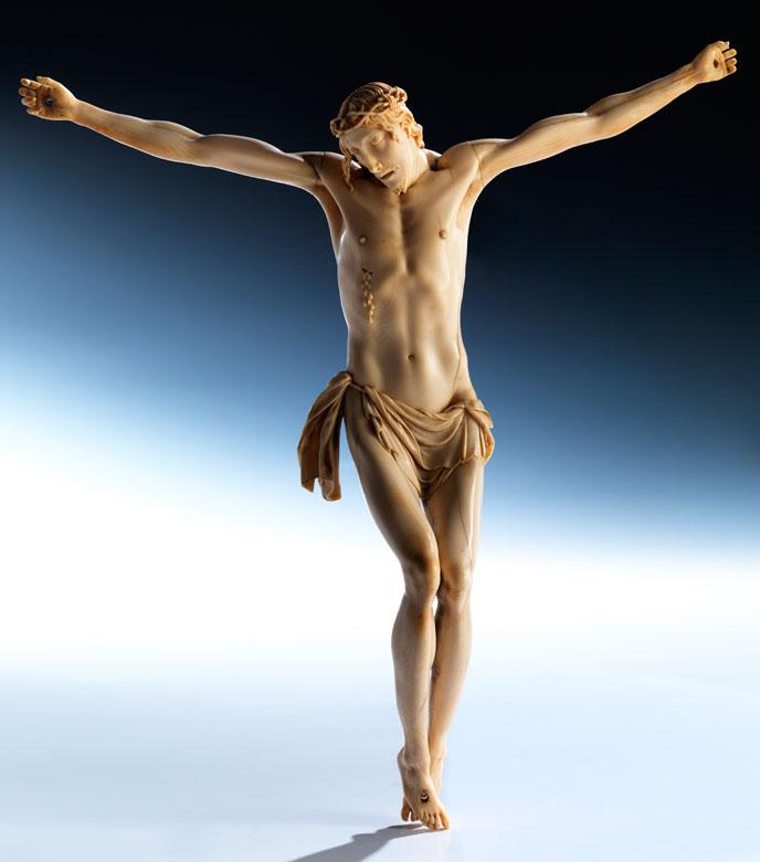 Elfenbeinschnitzer in der Stilnachfolge der italienischen Bildhauerschule des Benvenuto Cellini