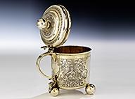 Silber, Porzellan, Glas, Kästchen & dekorative Objekte Auction March 2015