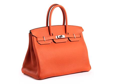 """Hermès Birkin Bag 35 cm """"Feu Orange"""""""