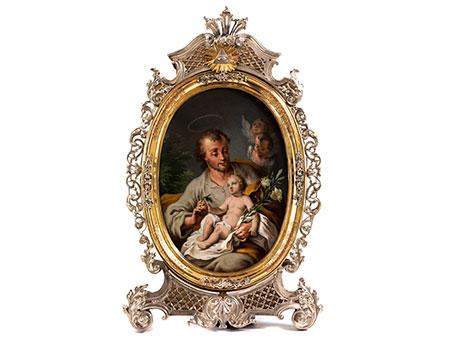 Egid Quirin Asam 1692 Tegernsee – 1750 Mannheim, in Zusammenarbeit mit dem bedeutenden Münchner Gold- und Silberschmied Johann Christoph Steinbacher, 1719 – 1746