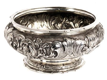Leipziger Silber Konfekt-Schale