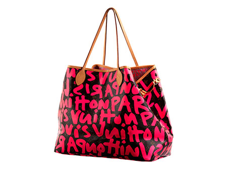 """Louis Vuitton """"Graffiti Neverfull"""" by Marc Jacobs & Stephen Sprouse"""