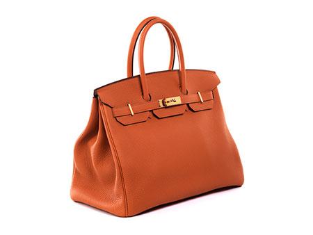 "Hermès Birkin Bag 35 cm ""Potiron Orange"""