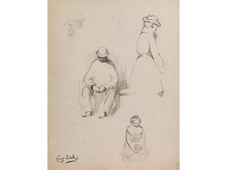 Eugène Zak,  1884 Mogilno, Weißrussland – 1926 Paris
