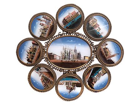 Kleiner Tischaufsatz mit Venedigmotiven