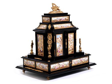 Schmuck-Kabinettkästchen des 19. Jahrhunderts