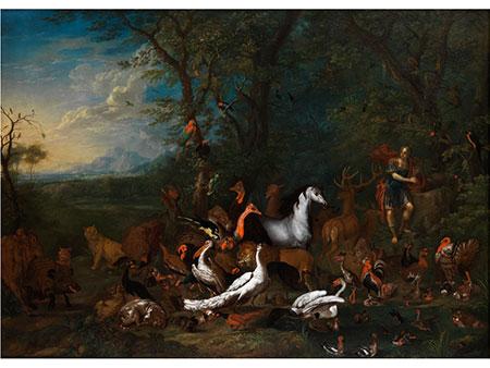 Carl Wilhelm de Hamilton, 1668 – 1754 und Franz Christoph Janneck, 1703 - 1761