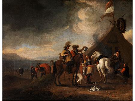 Pieter Wouwerman, 1623 – 1682, Werkstatt/ Art des