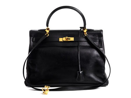 "Hermès Kelly Bag 32 cm ""Black"""
