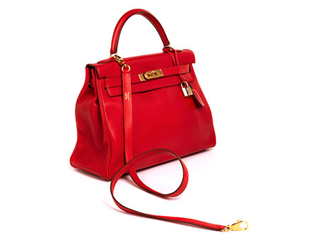 "Hermès Kelly Bag 32 cm ""Rouge Casaque"""