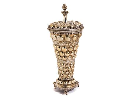 Silbergefäß im Renaissancestil