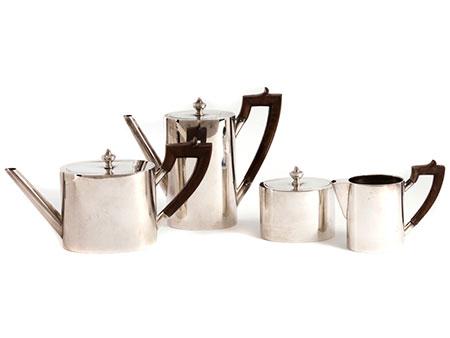 Silbernes Tee-und Kaffeeservice