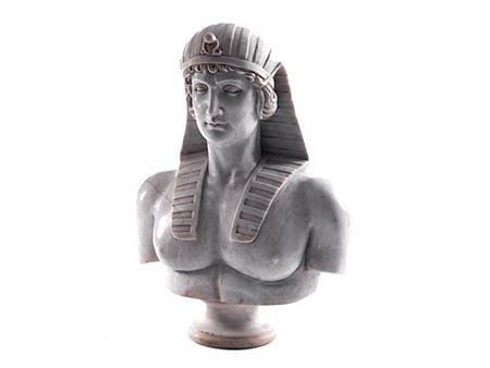 Büste eines Pharaos von Anselmo Galmuzzi