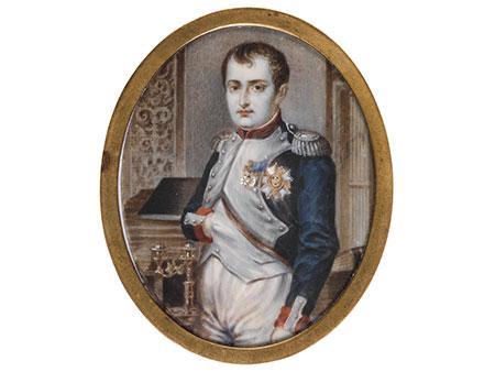 Miniaturbildnis Napoleons