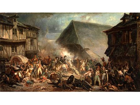Jean Sorieul, 1824 - 1871, zug./ nach