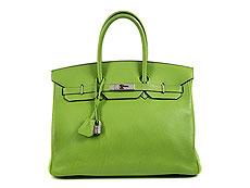 """Hermès Birkin Bag 35 cm """"Vert Cru"""" 95cf384f6b0d5"""