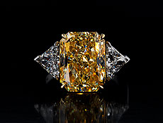 Fancy Yellow Diamantring