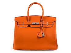 "Hermès Birkin Bag 35 cm ""Orange"""