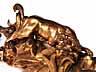 Detail images: Imposante und außergewöhnliche Rokoko-Konsole