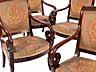 Detail images:  Satz von sechs Charles X-Stühlen