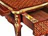 """Detail images: Kleiner Louis XV-Schreibtisch genannt """"Aux Barbeaux"""""""